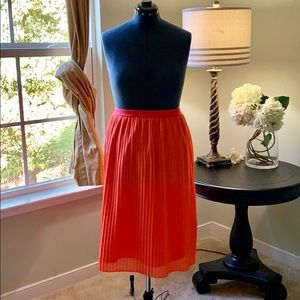 a new day Skirts - 🌺A New Day Coral Accordion Skirt Size XXL
